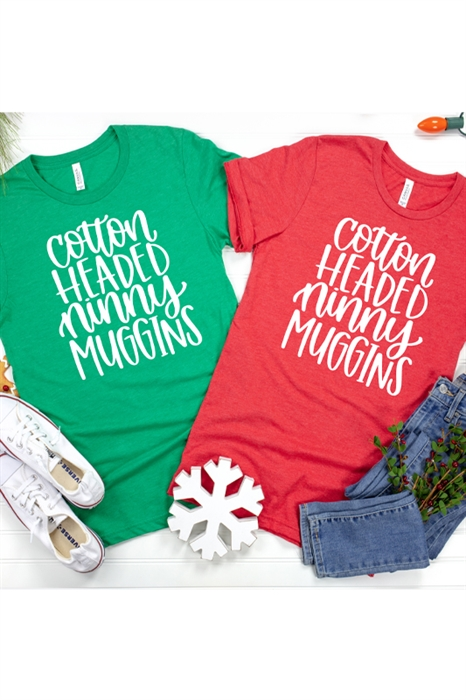 Picture of Cotton Headed Ninny Muggins Graphic Tee
